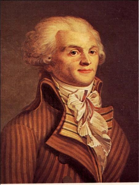 R - ''Robespierre'' est mort assassiné en 1794.