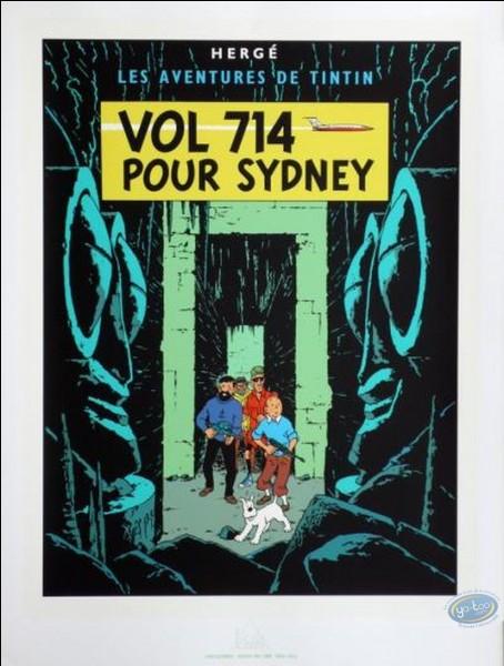 """Comment s'appelle le constructeur d'avion dans le """"Vol 714 pour Sidney"""" ?"""