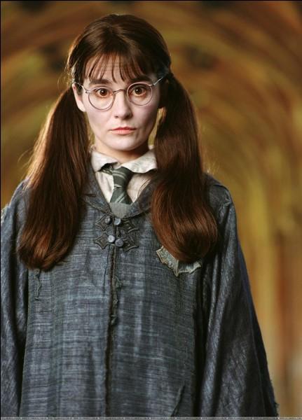 Que devient-elle après avoir pris du polynectar dans la deuxième partie de ''Harry Potter et les Reliques de la Mort'' ?
