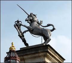 Dans quel pays se trouve cette statue de licorne ?