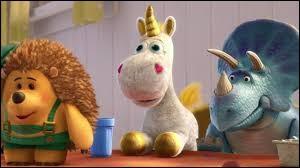 """Comment s'appelle la licorne en peluche que l'on voit dans le film """"Toy Story 3"""" ?"""