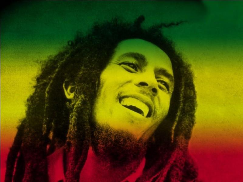 Et pour finir, quel est ce chanteur de reggae ?