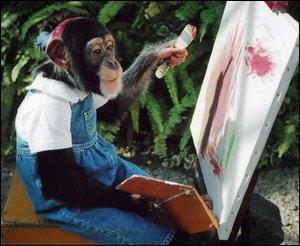 Quel animal peint ?