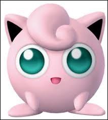 Pokémon tout rose, je suis capable d'endormir quiconque grâce à mes chants mélodieux ! Je suis...