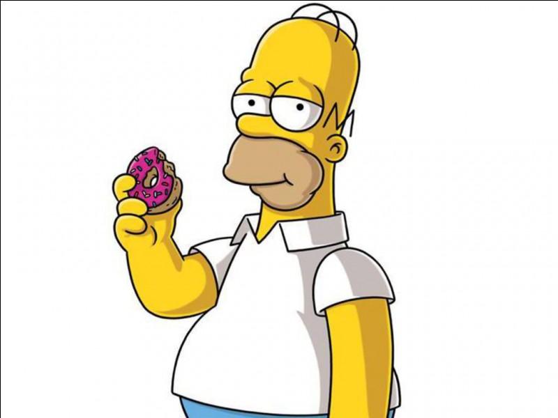 """Personnage jaune de la série """"Les Simpson"""", j'adore les donuts et la bière. Je suis..."""
