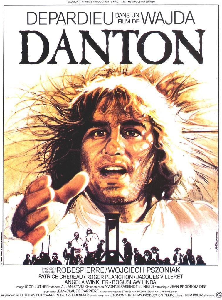 Film 'Danton' (Andrzej Wajda) 1983