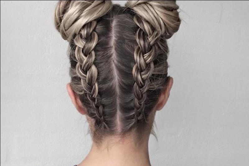 Comment coiffes-tu tes cheveux le plus souvent ?