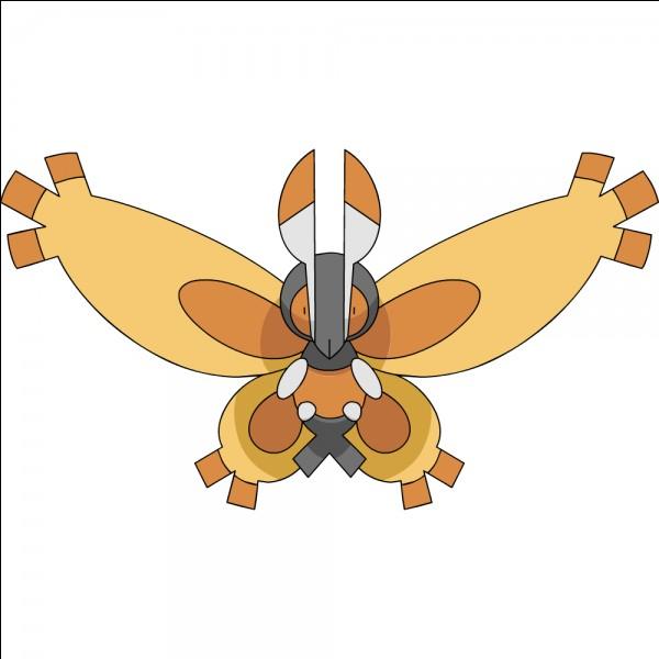 Qui est ce Pokémon de type insecte ?