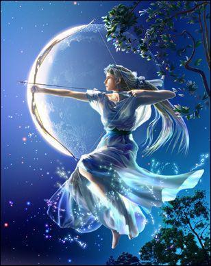 De même, Artémis est la déesse grecque de la guerre. Quelle est son équivalente romaine ?