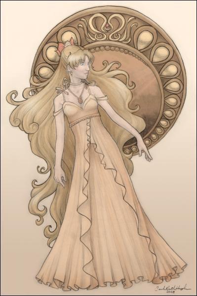 Du temps du millénium d'argent, qui la Princesse Venus (donc Mathilda) était-elle par rapport à la princesse Serenity (Bunny) ?