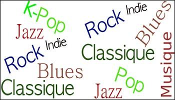 Quel est ton style de musique ?