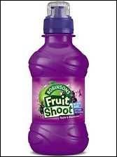 Quelle est la couleur du fruit shoot ?