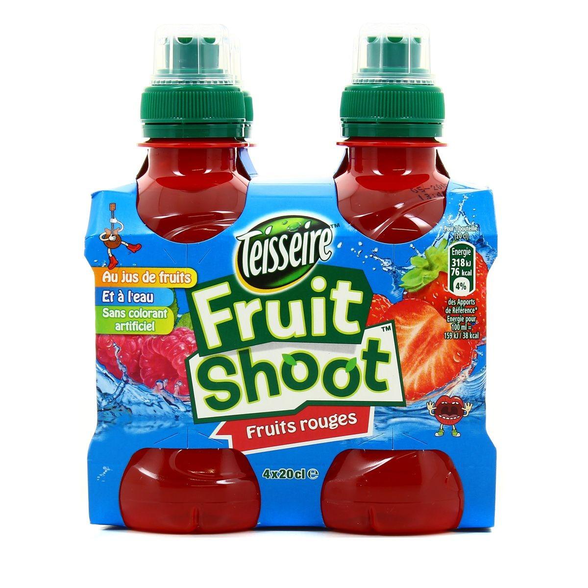 Les couleurs, à l'aide du Fruit Shoot