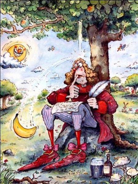 Quelle chute a permis à Isaac Newton d'établir la théorie de la gravité universelle ?
