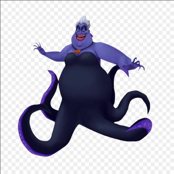 Quelle princesse connaît la méchante Ursula ?