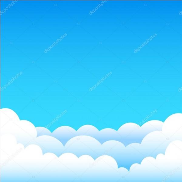 Le ciel est bleu...