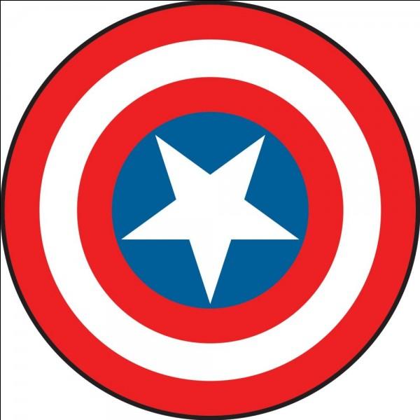 Que représente le bouclier de Captain America?