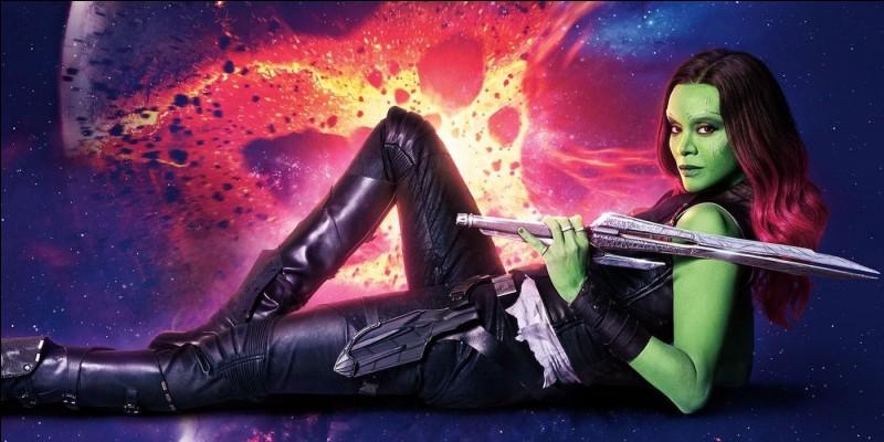 Gamora est en réalité la fille...