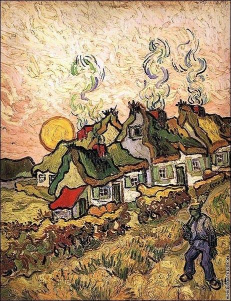 10 toiles de Vincent van Gogh. - (6)