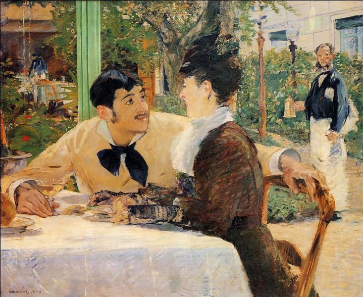 """Qui a peint le tableau """"Chez le père Lathuille"""" ?"""