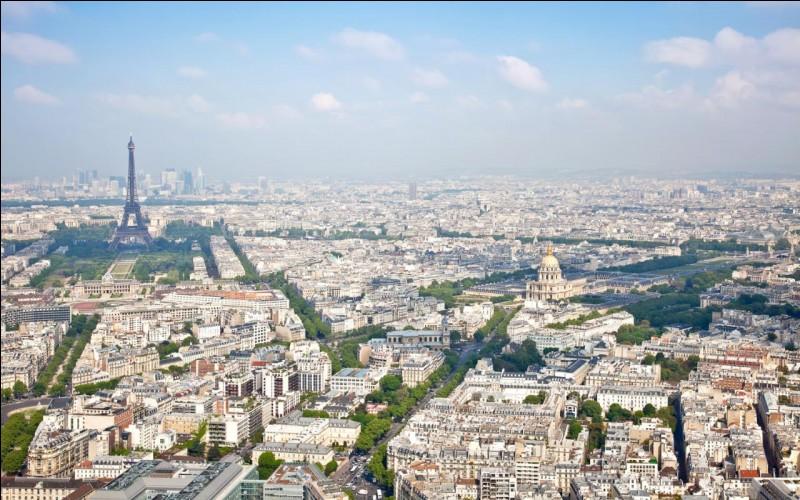 La plus grande ville de France est :