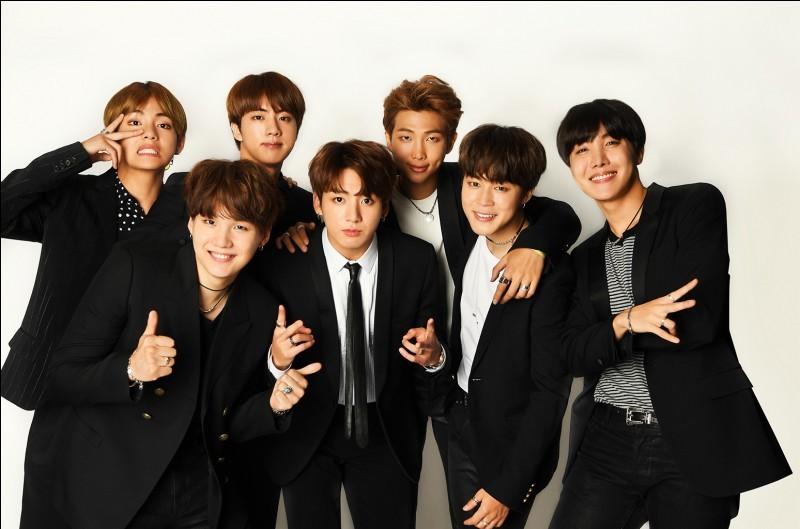 Les groupes de K-pop