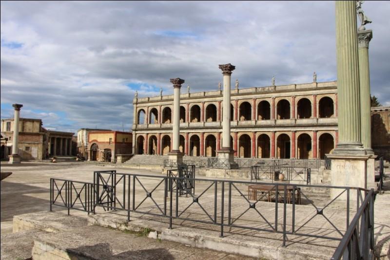 Quel grand film a été tourné à la Cinecittà ?