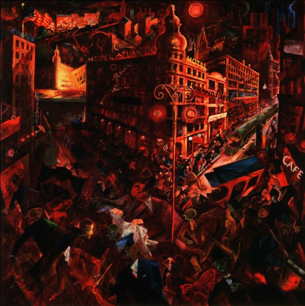 "Qui a peint ""Metropolis"" ?"