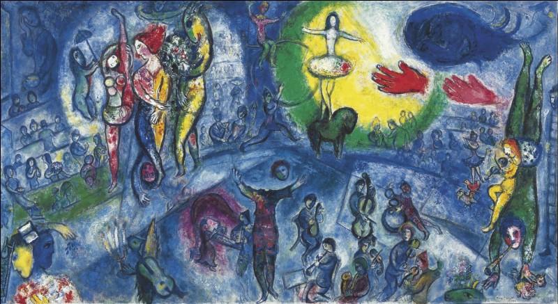 """Qui a peint """"le grand cirque"""" ?"""