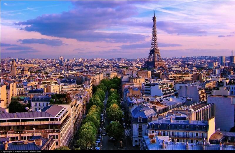 Voici quatre villes. Laquelle vas-tu rayer de la liste si tu veux rester en France ?
