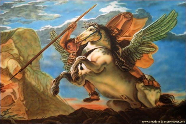 Un peu de culture générale : Dans la mythologie, Pégase est la monture de quel personnage ?