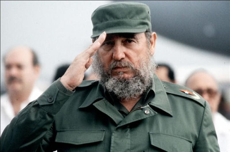 Fidel Castro a gouverné la Colombie.