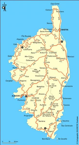 La superficie de la Corse compte-t-elle 24,09 km² ?