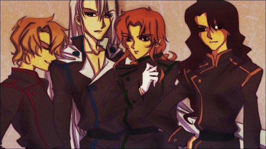 De gauche à droite, qui sont les Princes des 4 Cieux ?