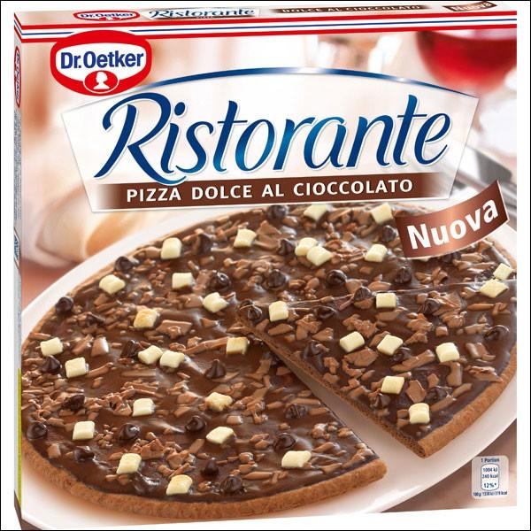 Au Brésil, les gourmands se régalent de pizzas au chocolat .