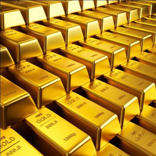 Il y a de l'or dans l'eau de mer.