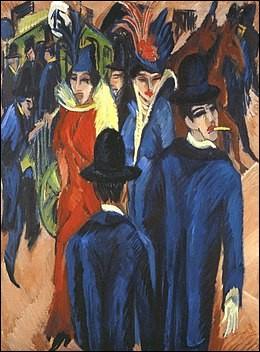 "Qui a peint ""Ernst Ludwig Kirchner"" ?"