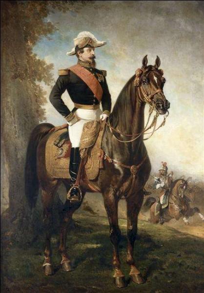 """Qui a peint """"portrait équestre de Napoléon III"""" ?"""