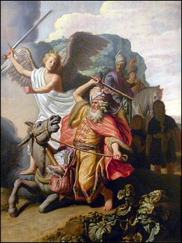 """Qui a peint """"L'Ânesse de Balaam"""" ?"""