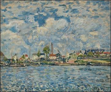 """Qui a peint """"La Seine au point du jour"""" ?"""