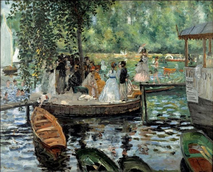 "Qui a peint "" La Grenouillère"" ?"