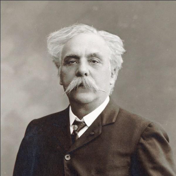 Gabriel Fauré est :