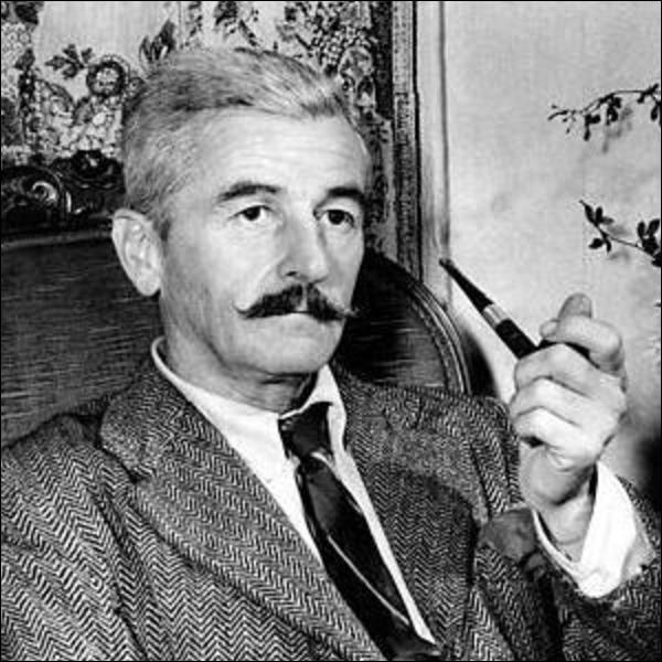 William Faulkner est :