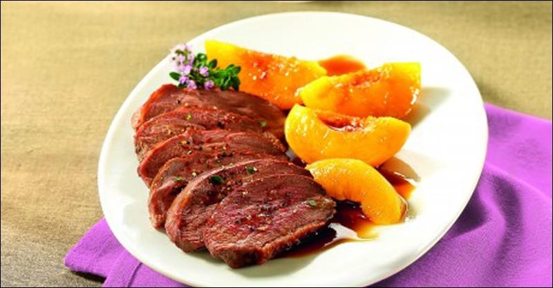 Le plat présenté est aussi une de mes spécialités !