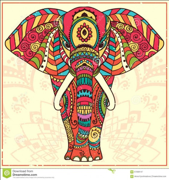 Où vit un éléphant ?
