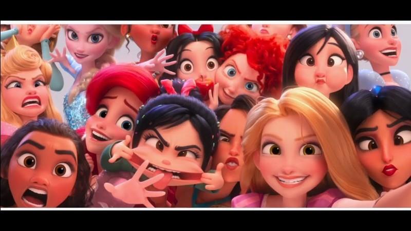 Qui est l intru parmi les autres princesse Disney ?