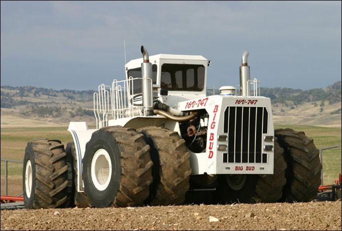 Combien de chevaux vapeur fait ce tracteur ?