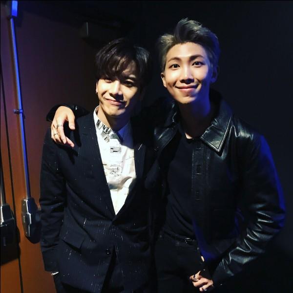 Rm (BTS) et Jackson (Got7), sont amis.