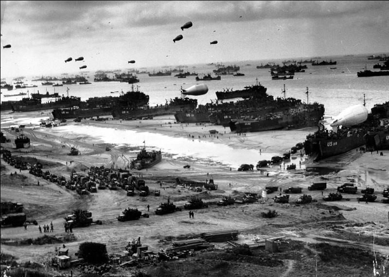 Sur les 156 000 soldats alliés,combien y a-t-il eu de pertes sur les plages ?
