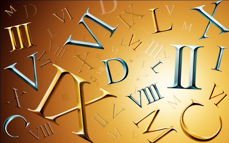 Comment écrit-on le 7 en chiffres romains ?